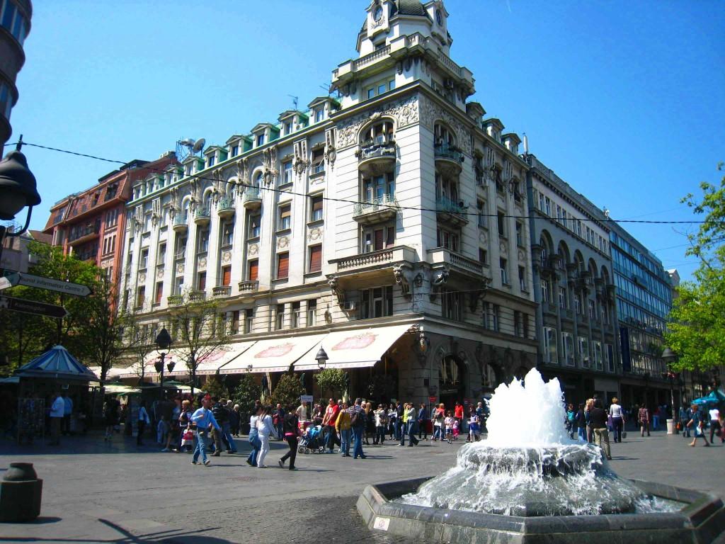 knez mihajlova street belgrade serbia